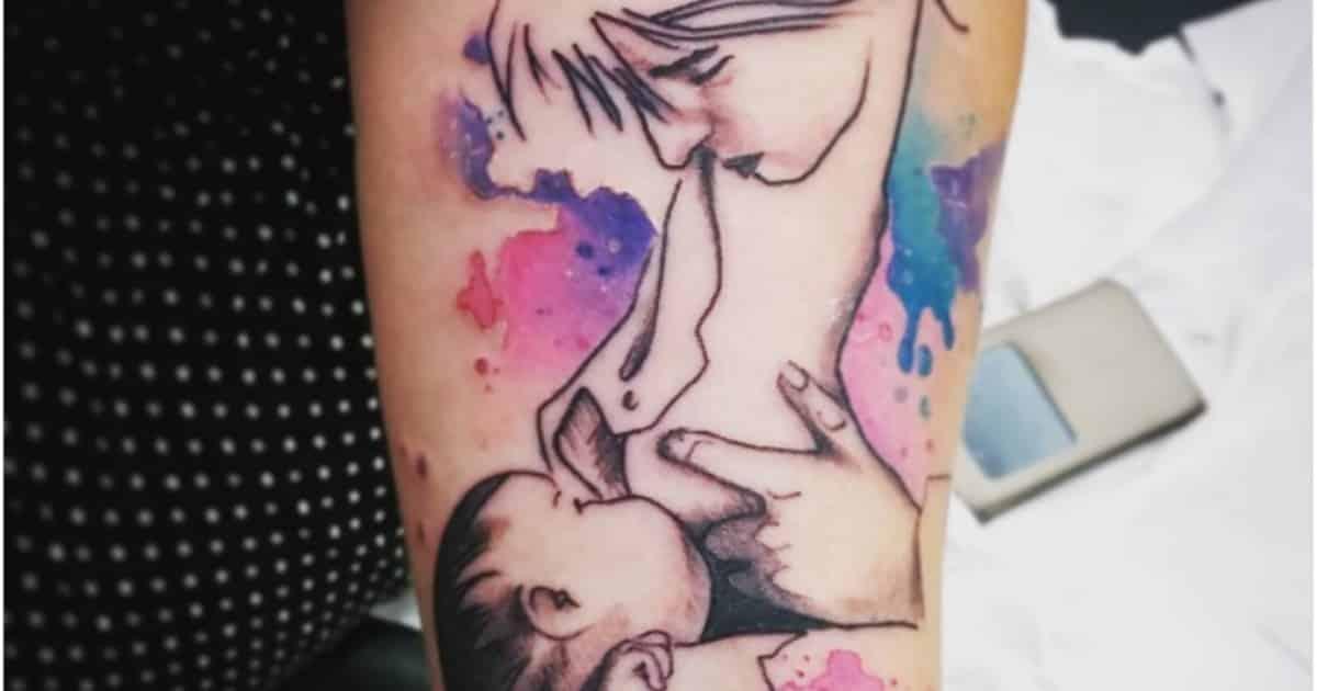 breastfeeding tattoos