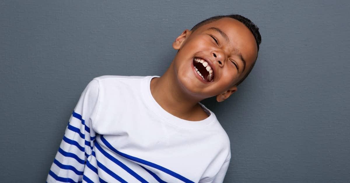 boy laughing fart noises