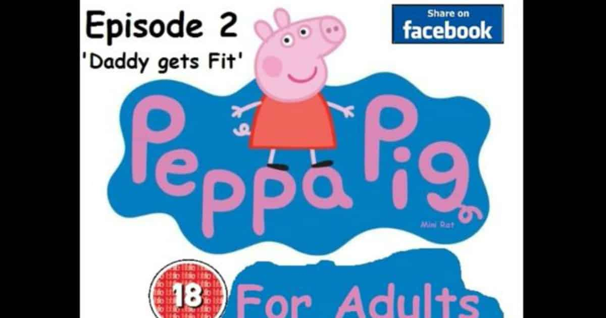 """I was so sick listening to them so I thought it would be fun to do a funny  spin and revoice Peppa as adults – but adults that aren't all lovey dovey  ..."