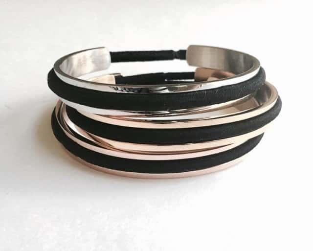 spare hair tie bracelets