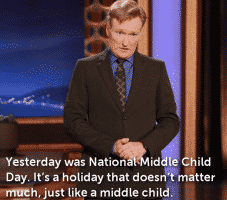 middle child holiday