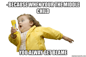 always to blame