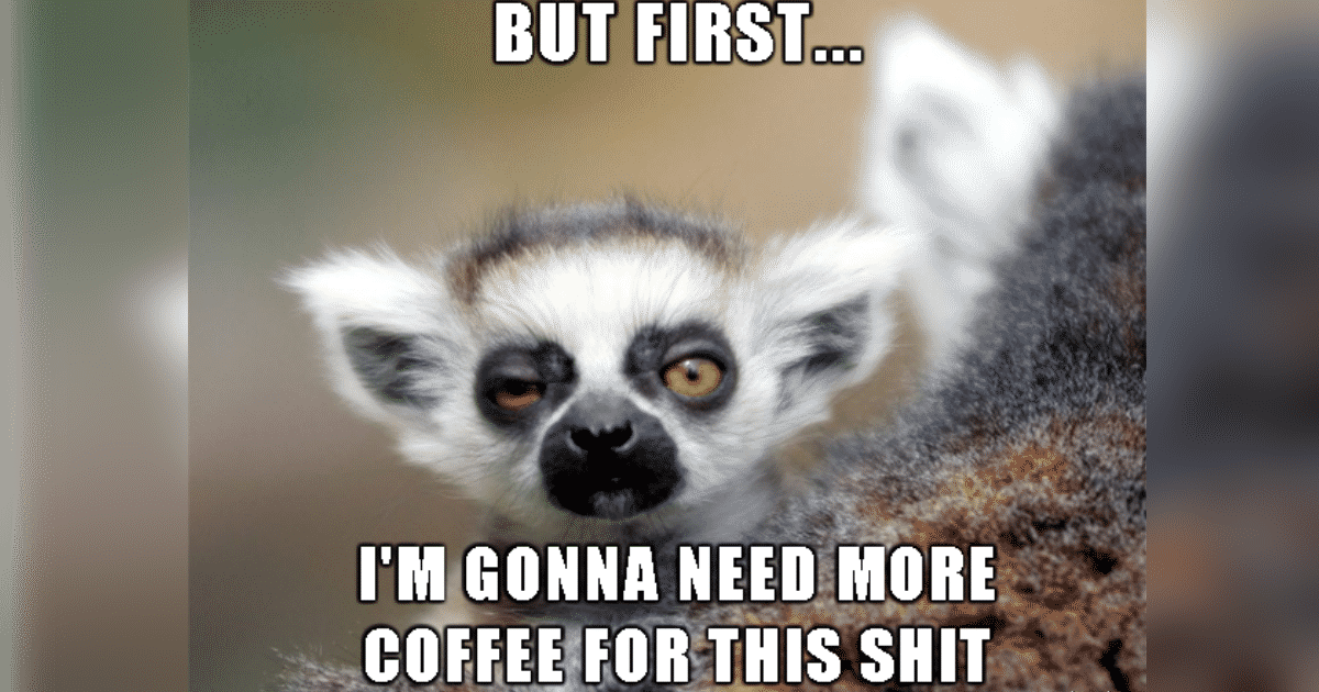 Parenting before coffee memes