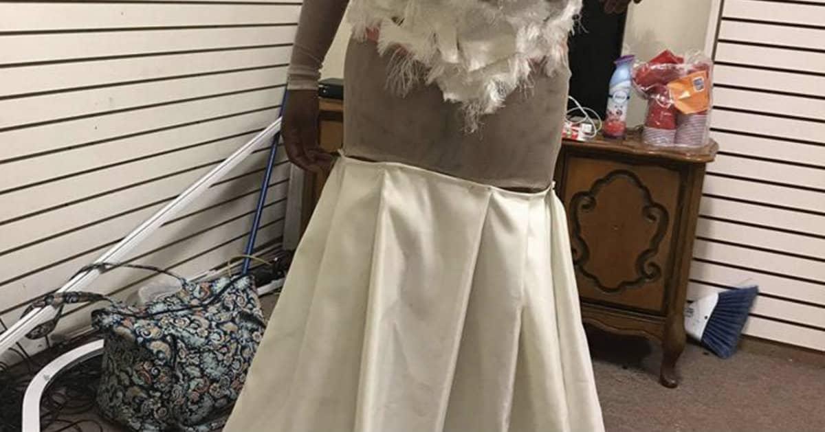 prom dress fail