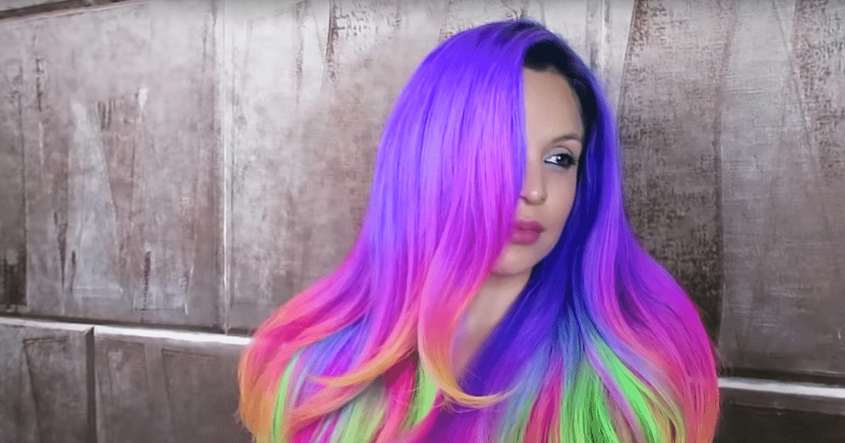 15 Amazing Rainbow Hair Looks That Will Have You Rushing ...
