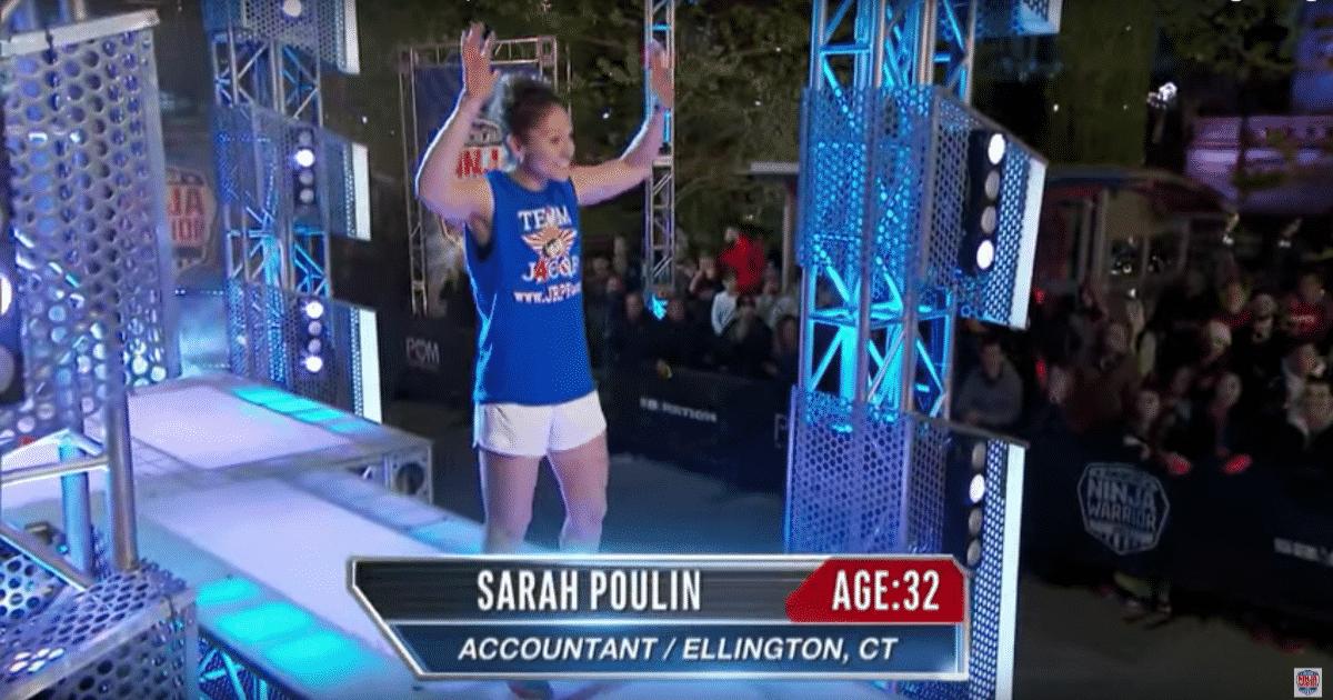 American Ninja Warrior Sarah Poulin