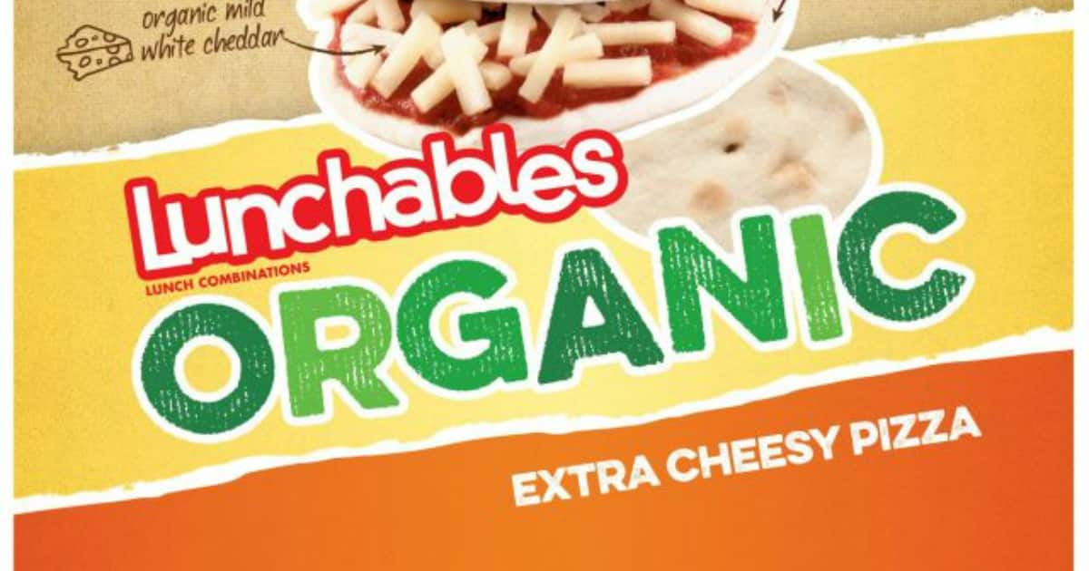 organic lunchables