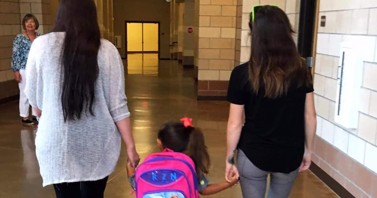 co-parenting with her kid's step-mom