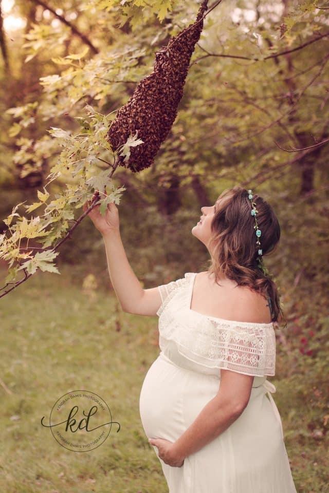 Maternity Shoot Honey Bees