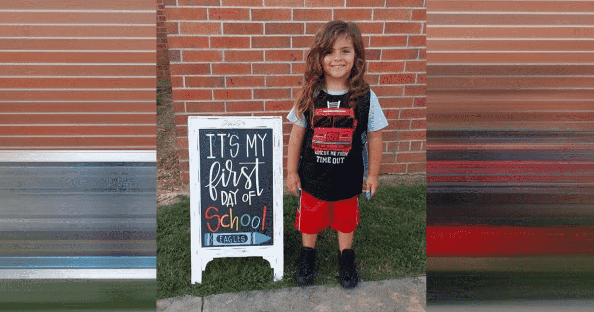 Boy sent home from school over long hair
