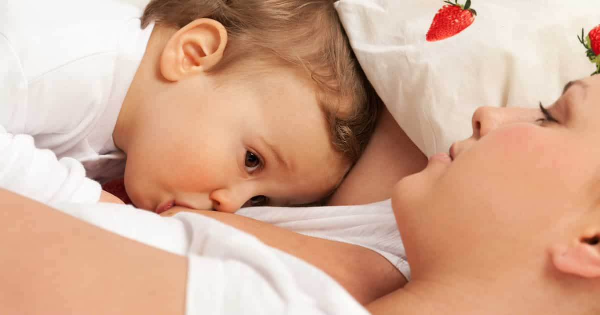 tandem breastfeeding toddler