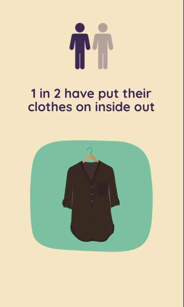 clothes inside out