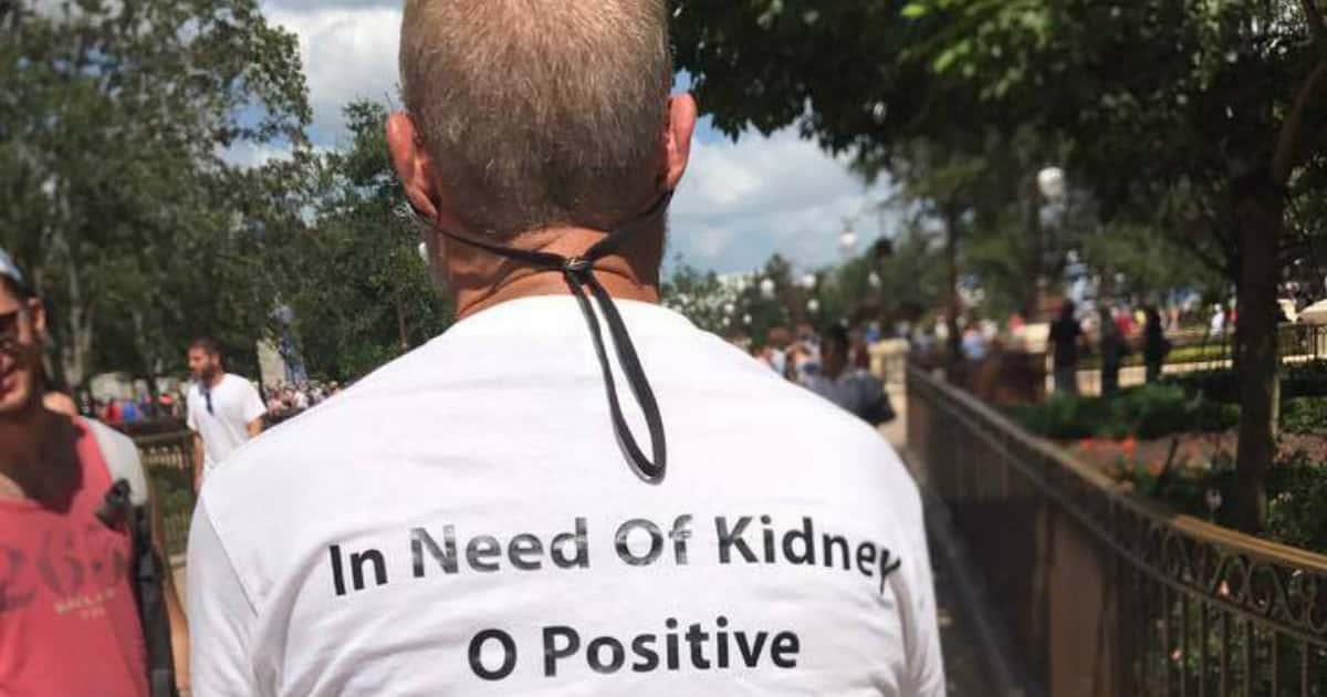 disney world kidney