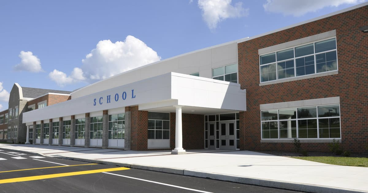 new school windows