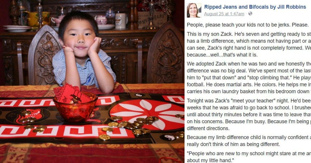 teach kids not to be jerks