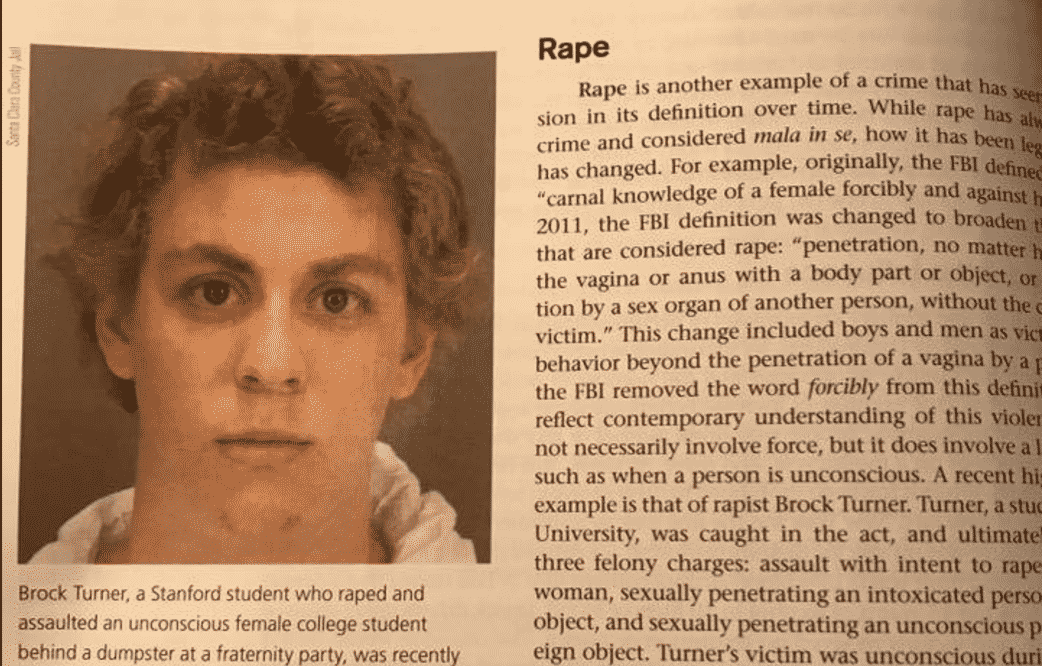 brock turner rape textbook