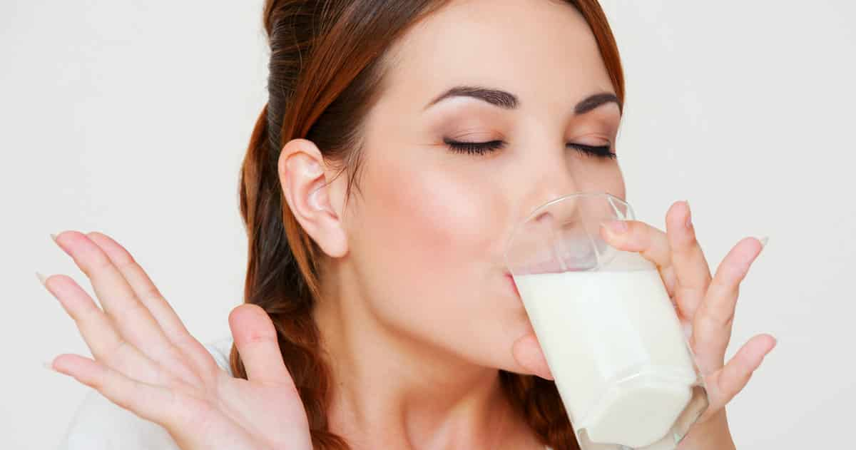 drinking breast milk
