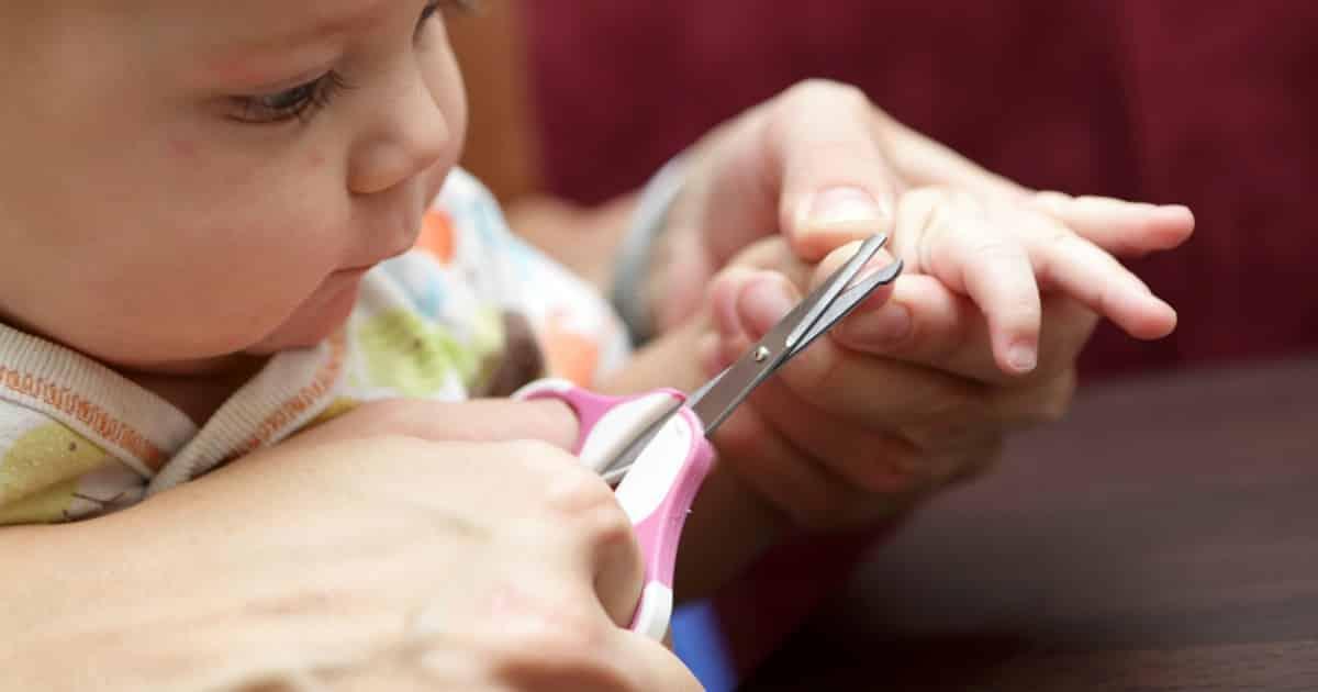baby's fingernails