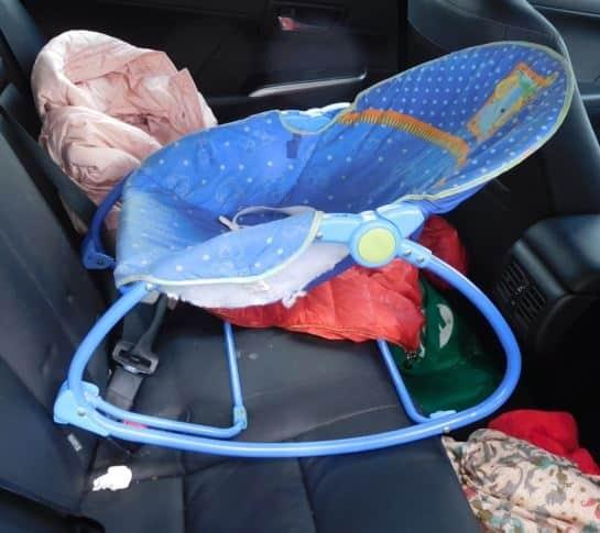 DIY car seat