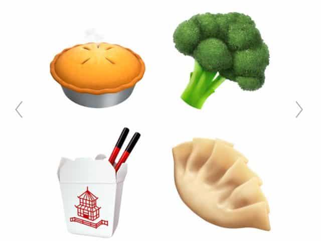 new apple emojis