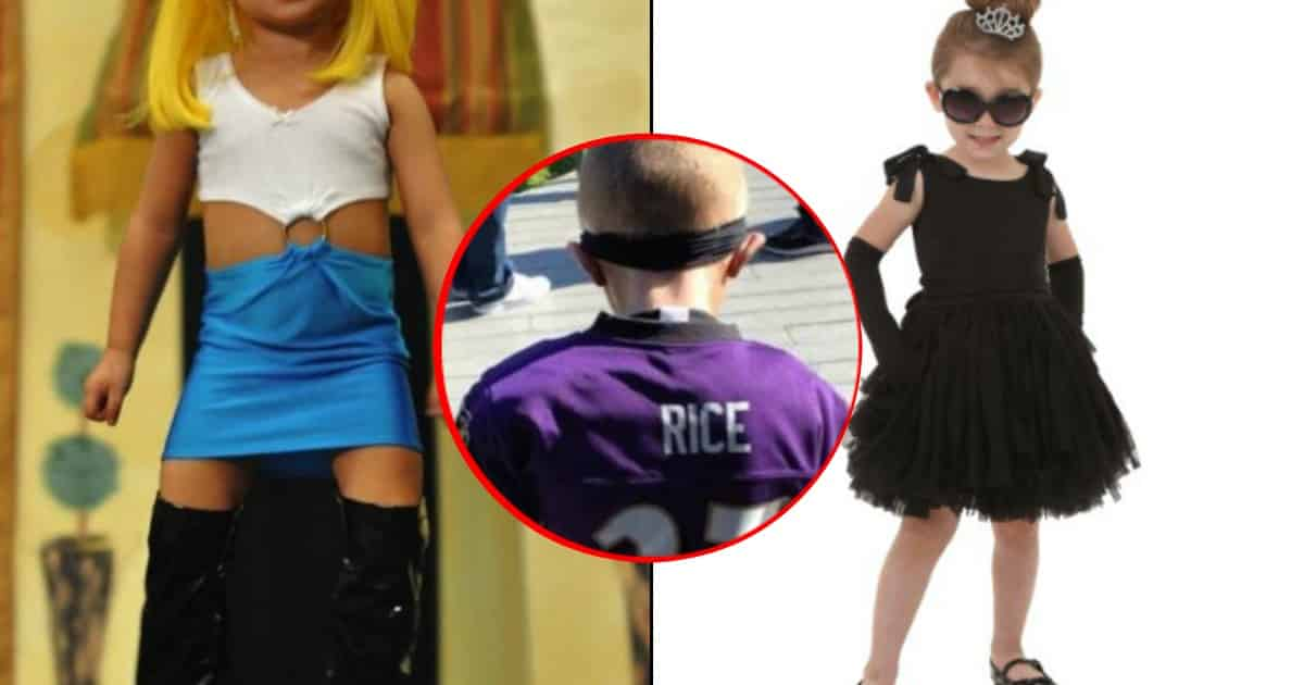 Bad Halloween Costumes for Kids Get Worse Every Year