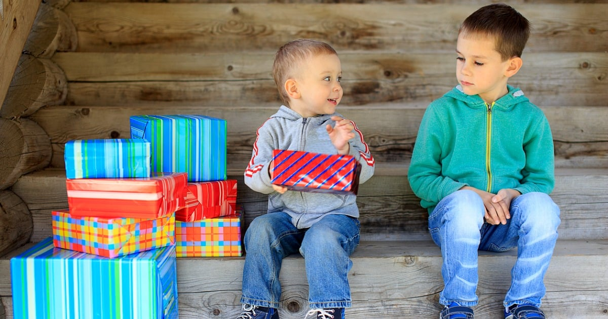 boys gifts one happy one sad dear prudence