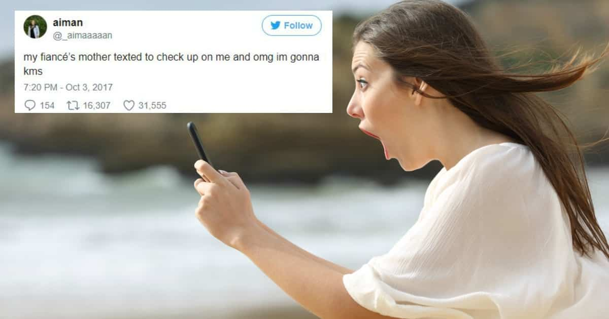 Amazed girl with her smart phone