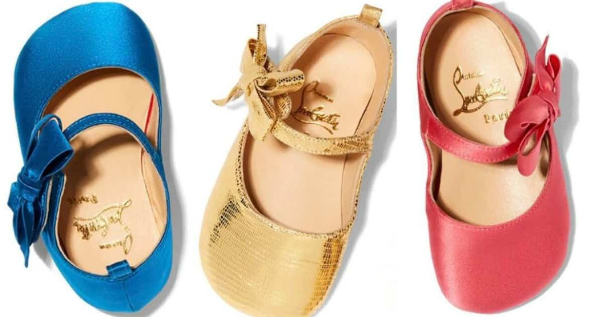 Christian Louboutin Baby Shoes Coming