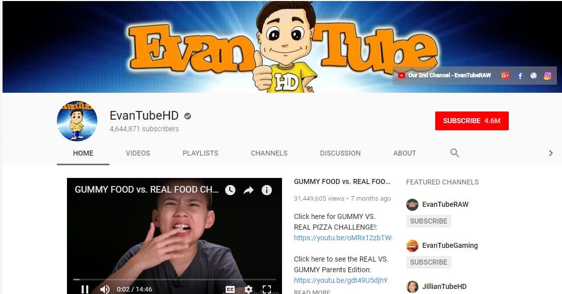 youtube kid influencers