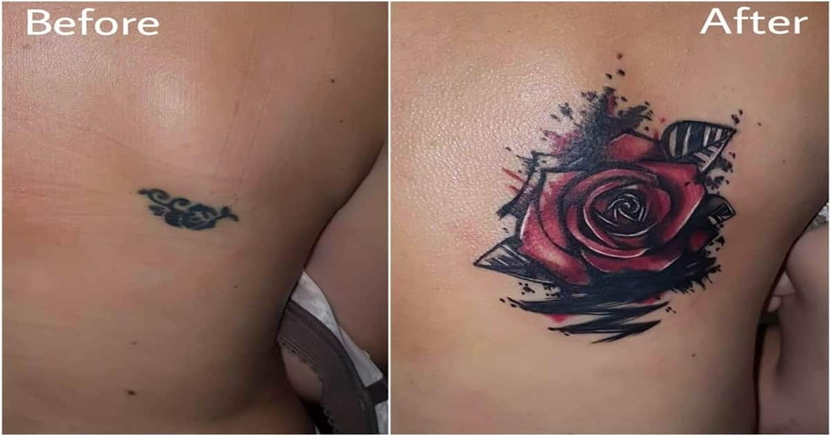 Cover up tattoos can turn a messy mistake into magic for How to conceal tattoo