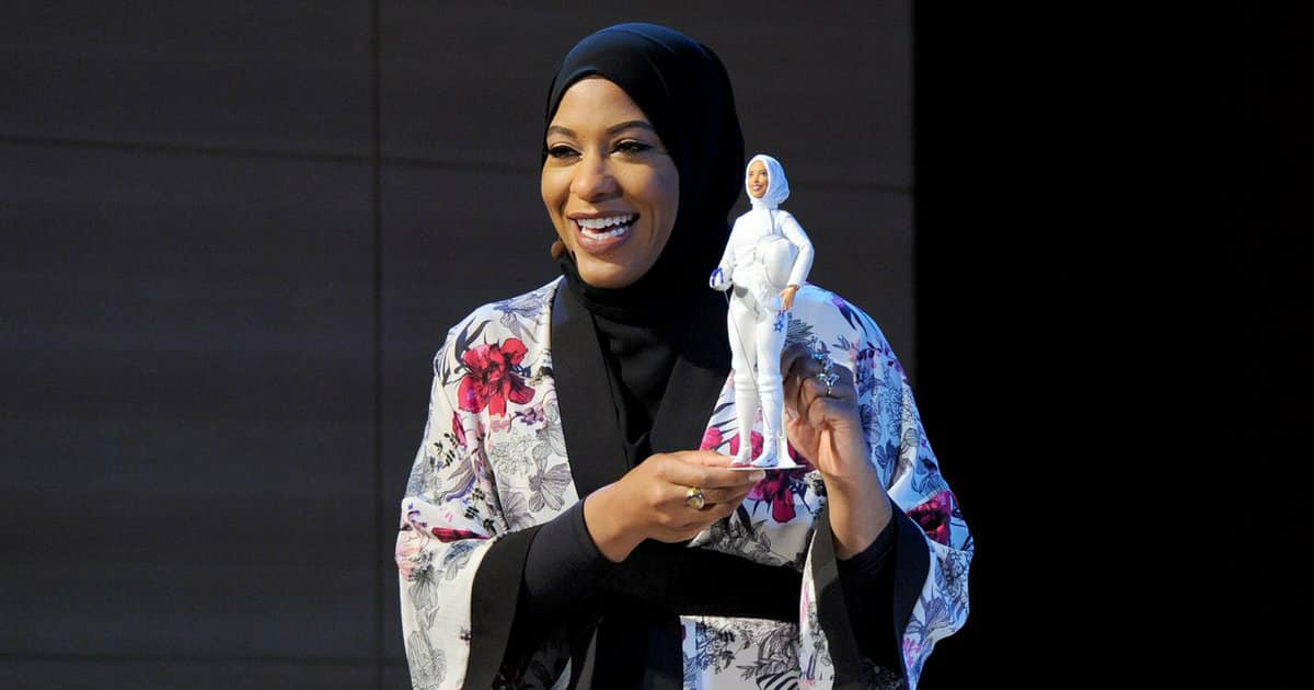 Barbie's 1st hijab: Meet the new Ibtihaj Muhammad doll