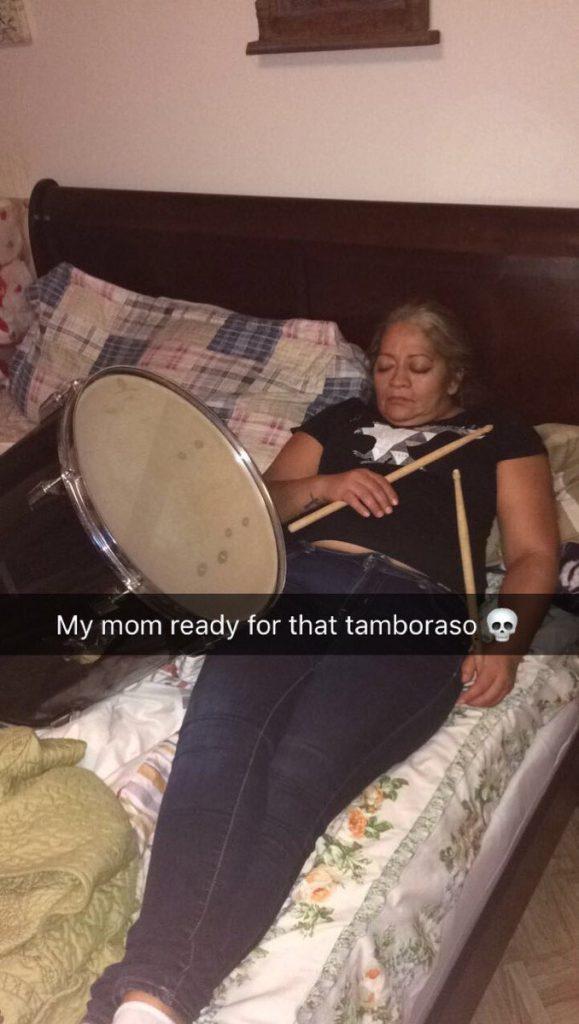 sleeping mom meme