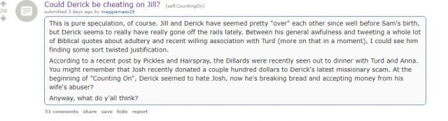 derick dillard cheating scandal