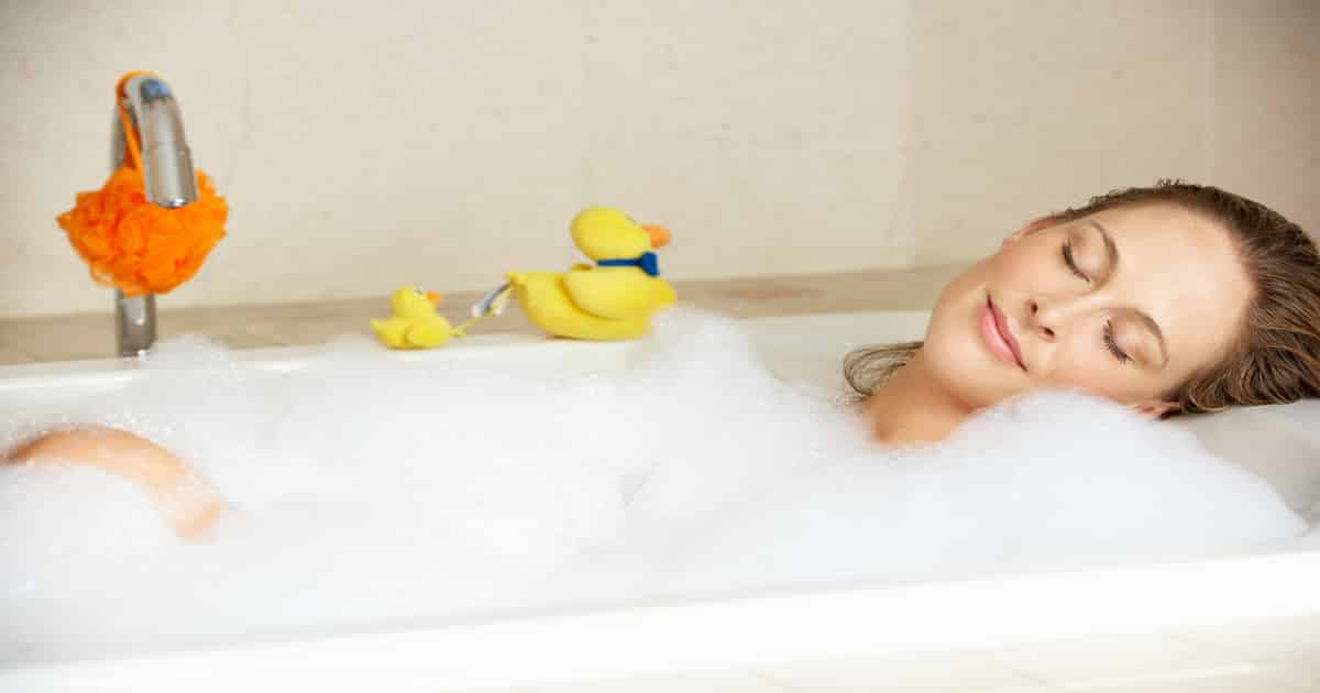 bubble baths during pregnancy