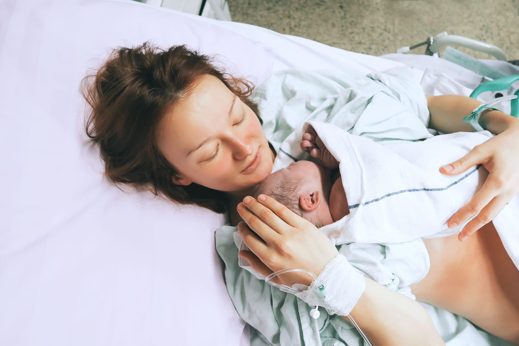 during birth