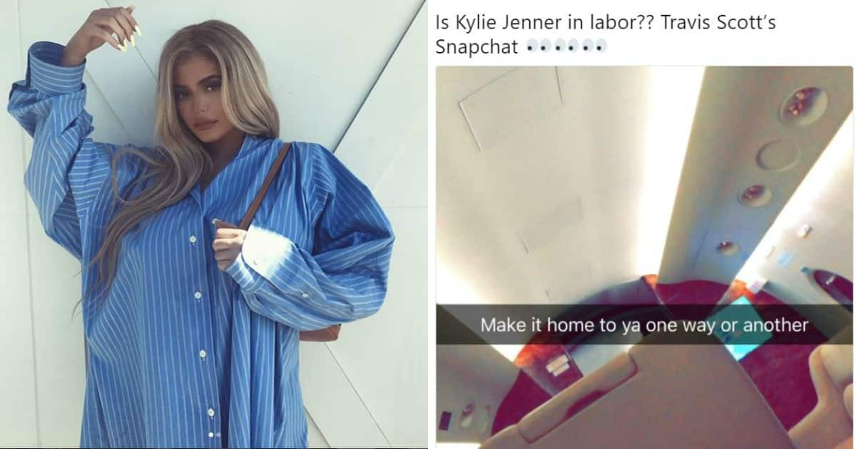 Kylie Jenner over Khloe's pregnancy, could not stop her tears