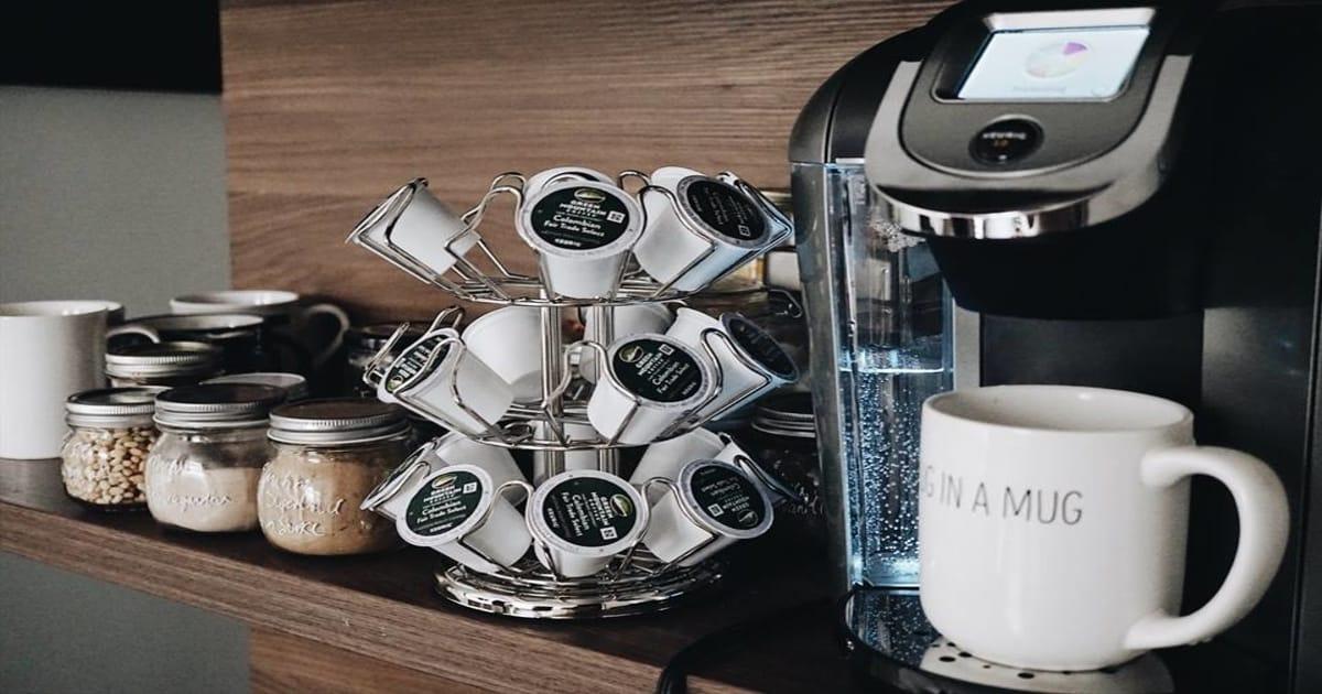 diy coffee pod organizer