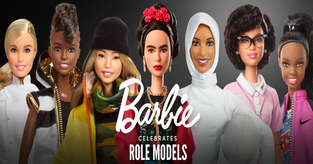 role model barbies