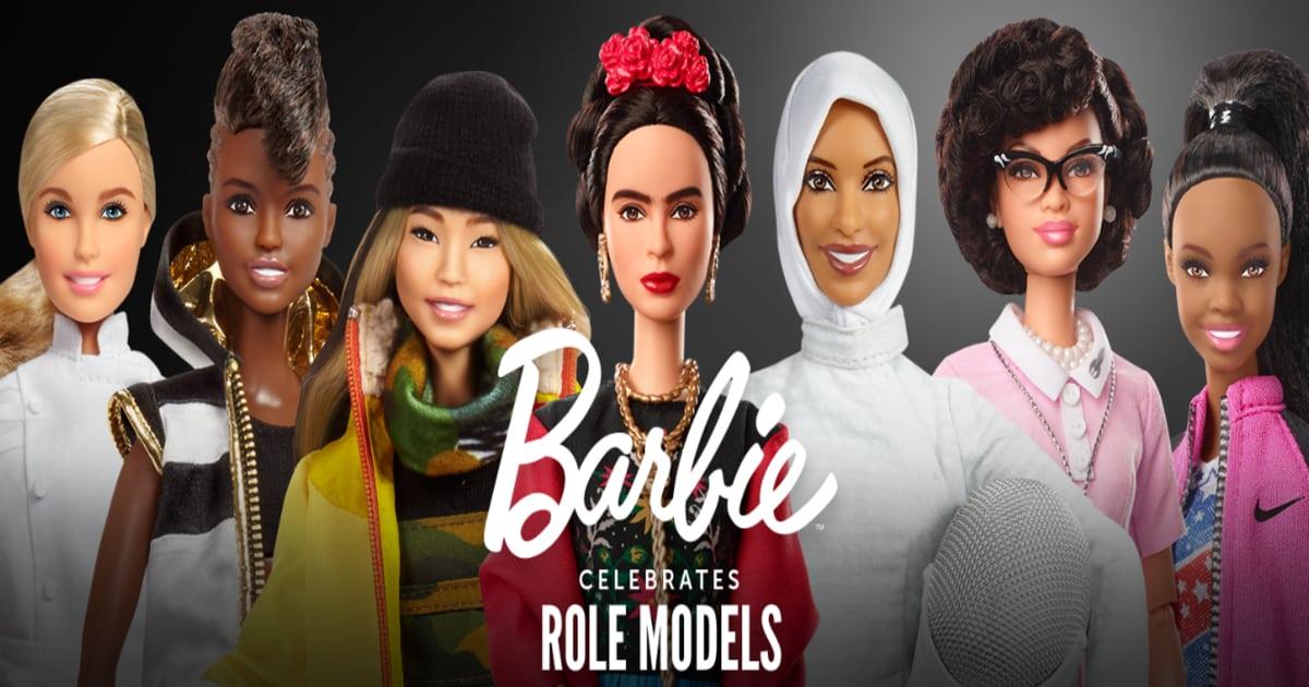 role model barbies