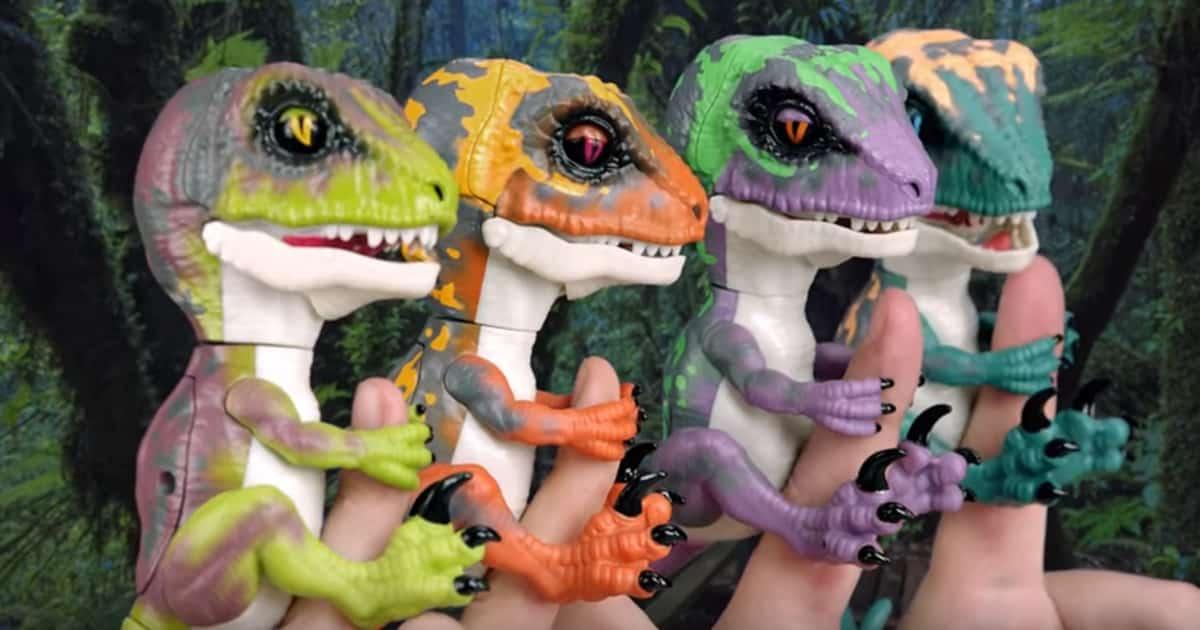 dinosaur fingerlings