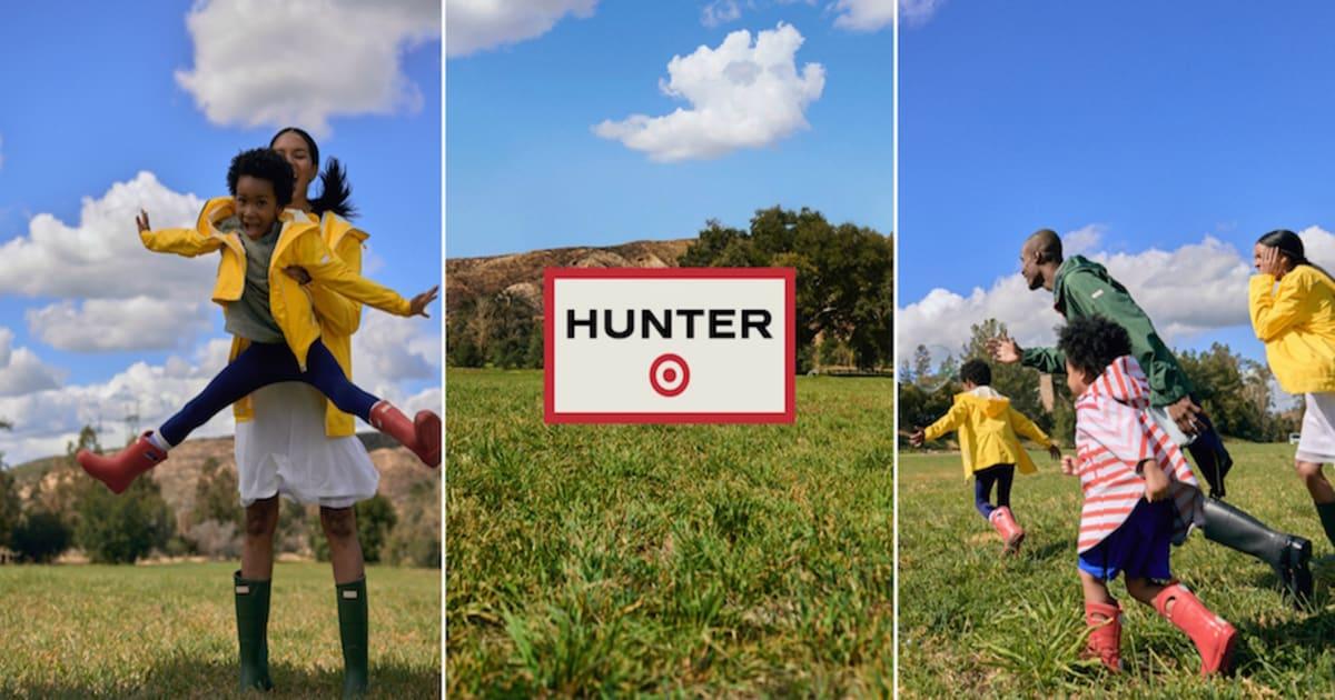 hunter boots x target