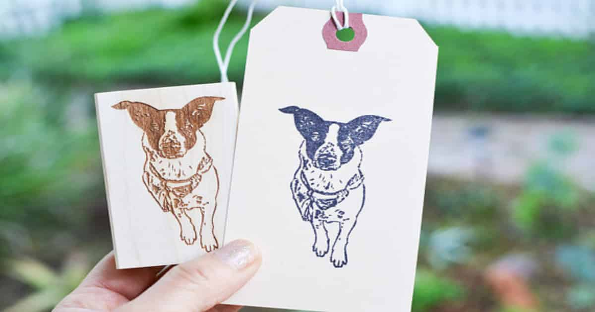 custom pet stamps