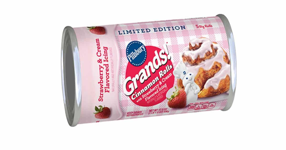 pink cinnamon rolls