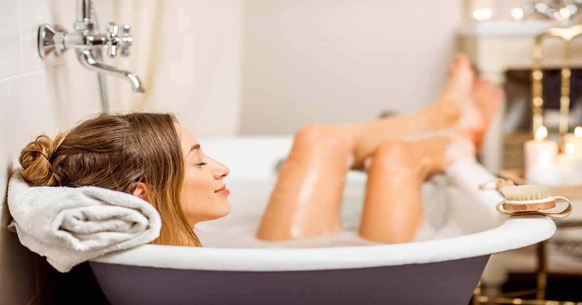 hot baths burn calories