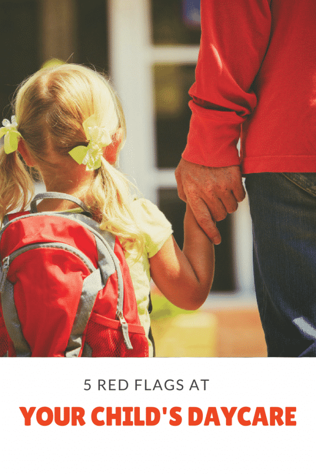 daycare red flags