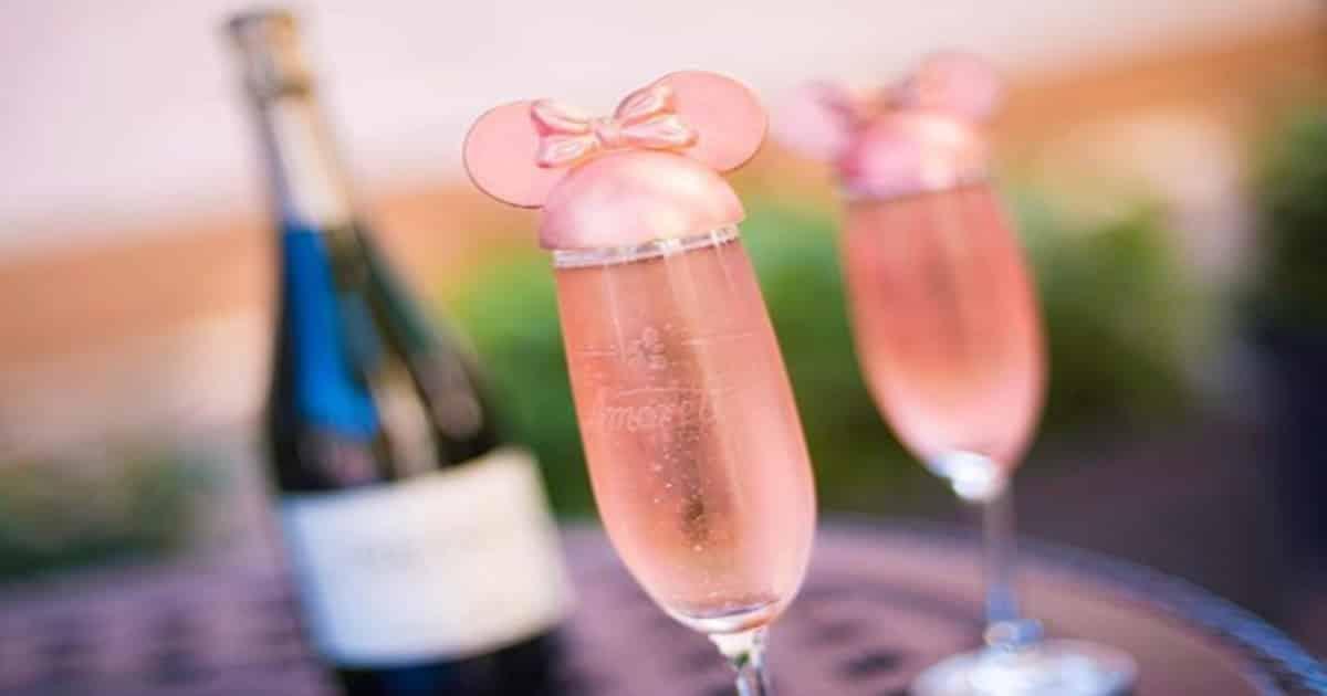 disney world's pink champagne