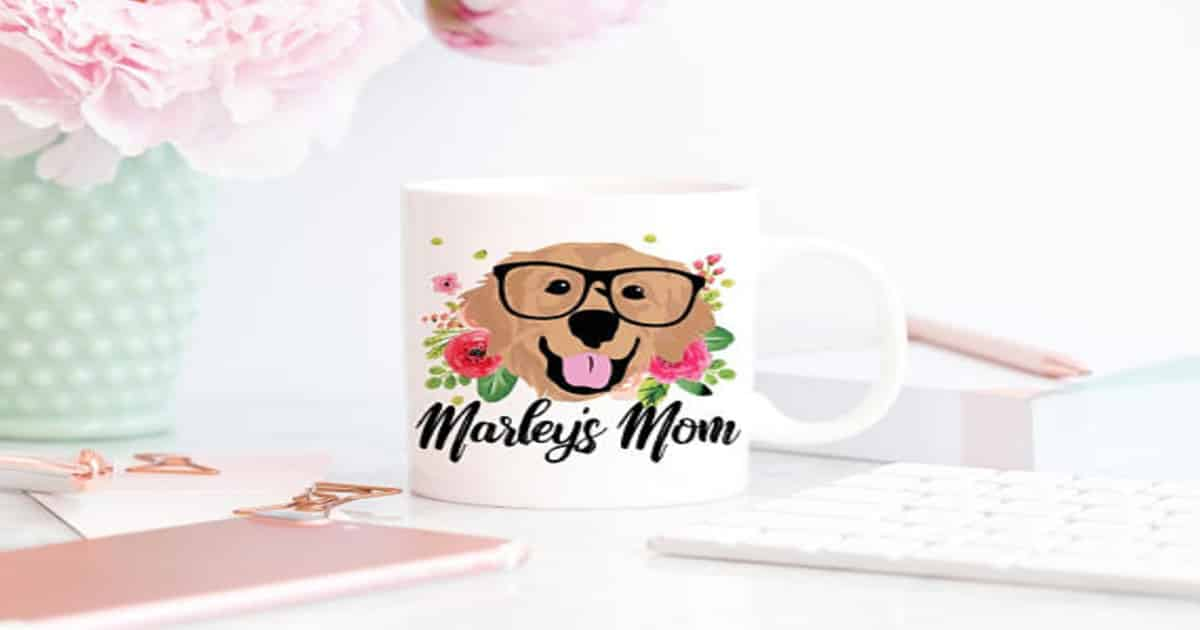 Dog Mom Mug Can Be Personalized With Your Doggo 39 S Sweet Face