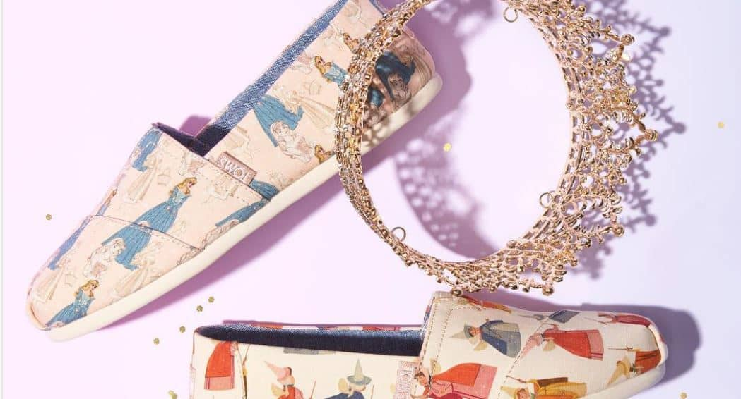 toms x disney collection