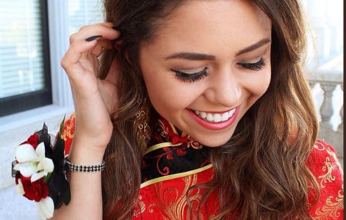 chinese prom dress