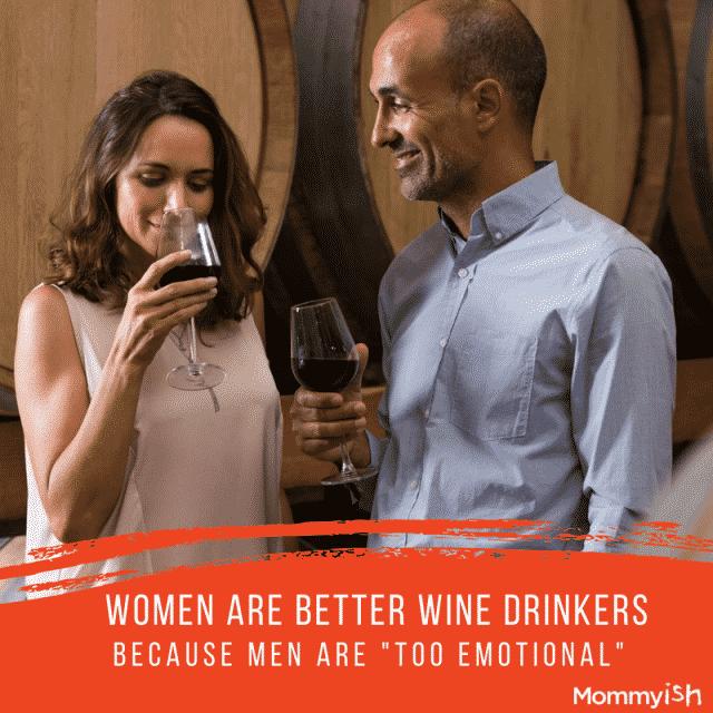women are better wine tasters
